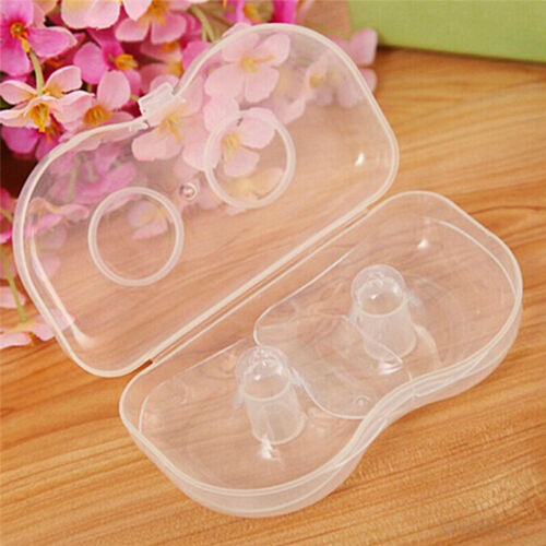 Maternity Nipple Protector Shield for Baby Breastfeeding Mothers Reuseable 3Bx
