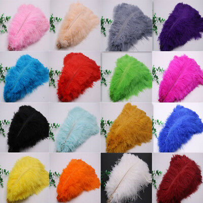 Wholesale 10-200 pcs high-quality natural ostrich feathers 6-24 inch/15-60cm 2