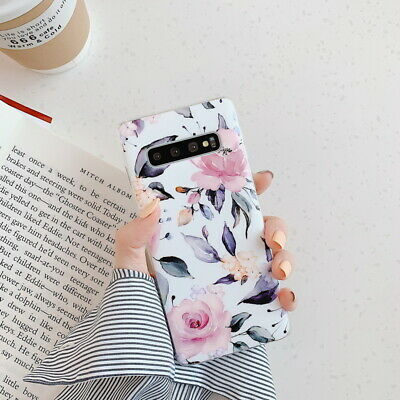 Shockproof Flower Slim Phone Case Cover For Samsung Galaxy S10 Plus A70 A50 S9 10