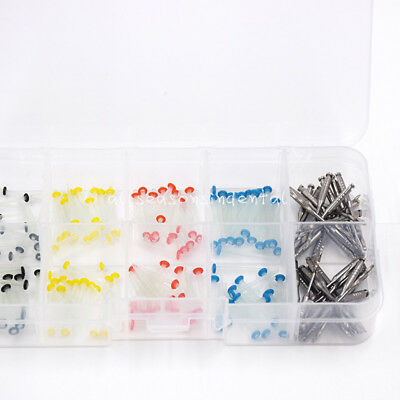 160 Pcs Glass Fiber Post Single Refilled Package & Free For 32 pcs Dental Drills 2