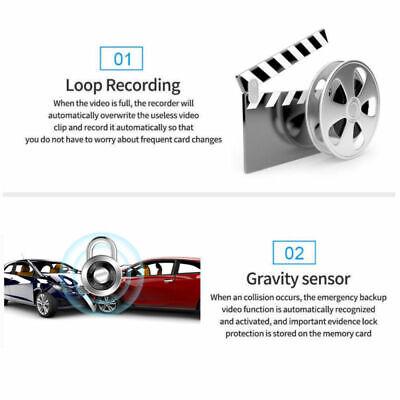 4.3'' HD Dual Lens Car DVR Dash Cam Front and Rear Mirror Camera Video Recorder 11