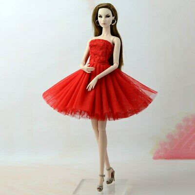 Fashion Summer Dress For 11.5in Doll Short Ballet Dresses For 1/6 Doll Clothes 4