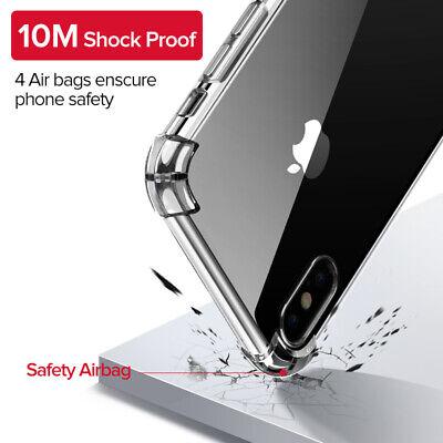 Antichoc Bumper Coque + Verre iPhone 11 Pro MAX XS XR / Silicone Case Protection 5