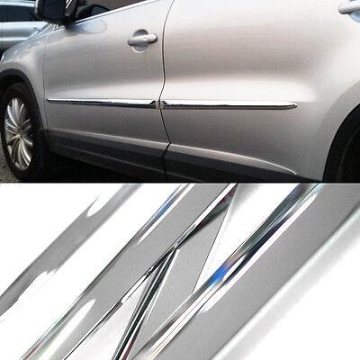 Chrome Side Door Line Sill Cover Molding Garnish Trim 4Pcs for INFINITI