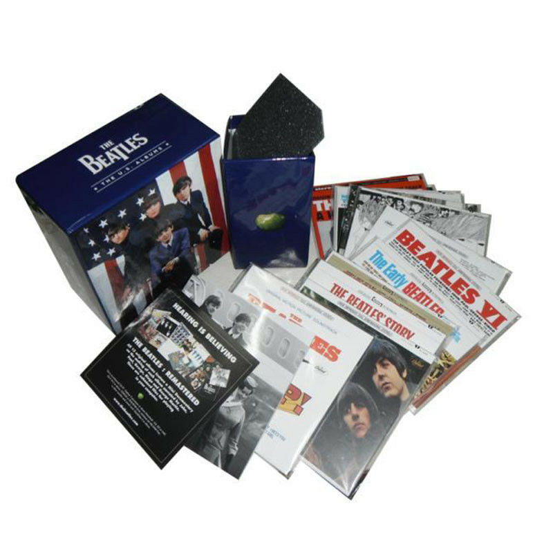 the beatles the u s albums 13 cd box set collection limited edition new picclick ca. Black Bedroom Furniture Sets. Home Design Ideas