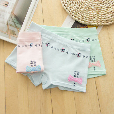 5 Pack Girls Boxer Shorts Briefs Cotton pants Underwear Knickers age 5-12 years 11