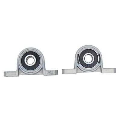 ... T8 Lead Screw Support Set Mounted Ball Self-aligning Bearing Pillow Block 8mm 2