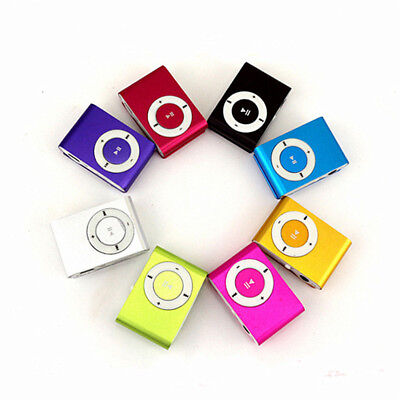 Mini USB Clip Sport MP3 Player Walkman Support Up To 64GB Micro SD Memory Card 11