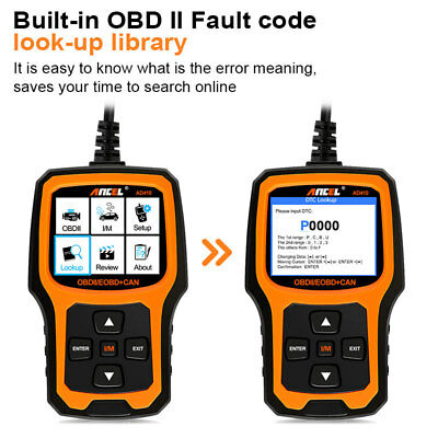 Ancel OBD2 EOBD Car Fault Code Reader Scanner Diagnostic Auto Engine Scan Tool 8