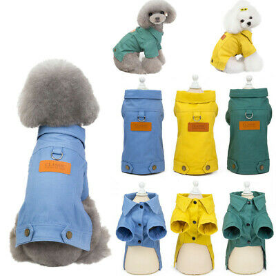 2019 New Puppy Pet Dog Clothes Hoodie Winter Warm Sweater Coat Costumes Apparel 7