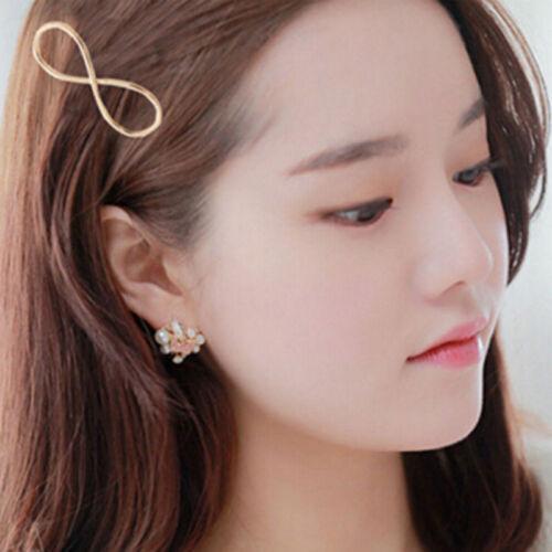 Fashion Women Girls Gold Silver Animal Flower Hairpin Hair Clip Hair Accessories 7