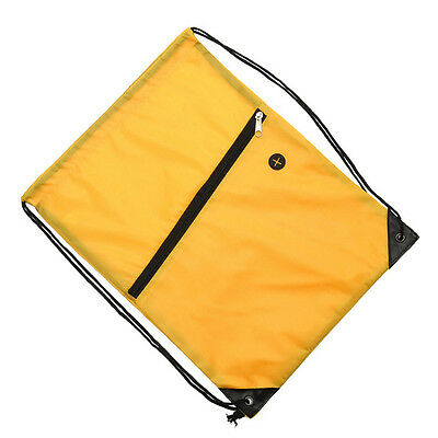 Cinch Sack Backpack String Drawstring Gym Bag Tote School Sport Travel Rucksack 6