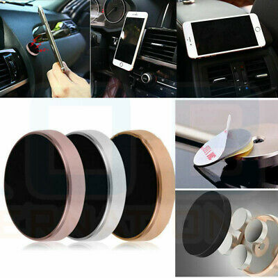In Car Magnetic Phone Holder Fits Dashboard Universal Mount Various Colours 7