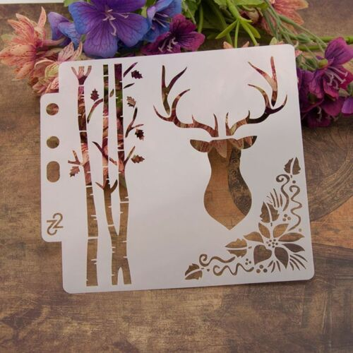 DIY Layering Stencils Template For Walls Painting Scrapbooking Stamping Craft 2