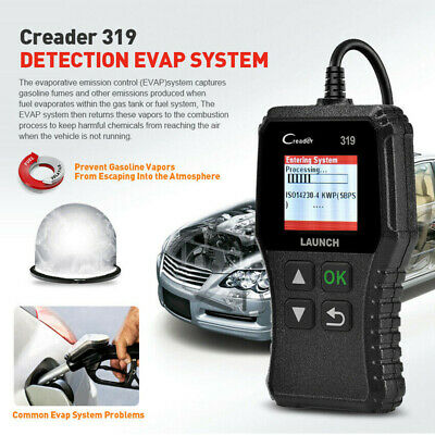 LAUNCH Car Fault Code Reader Engine Diagnostic Scanner Reset Tool OBD2 CAN EOBD 6