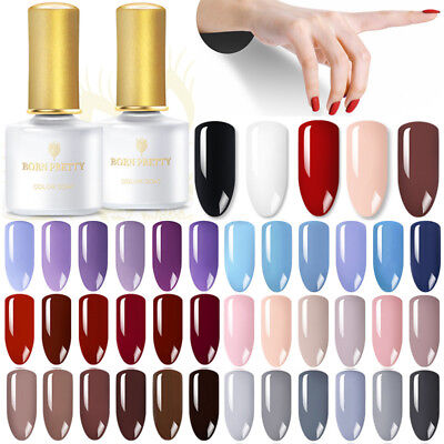 6ml BORN PRETTY Esmaltes de Uñas Soak off UV Gel Polish Nail Art Semipermanente 2