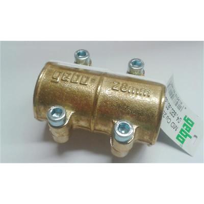 04.620.60.15 Gebo Messing-Dichtschelle Typ MD für Kupferrohr 15 mm