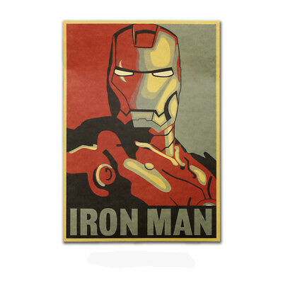 Avengers Thor,Iron Man,Black Widow,Captain America Kraft Paper Poster Picture 7
