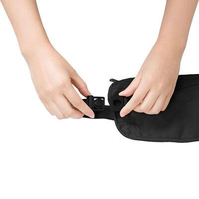 RFID Travel Waist Bum Bag Anti Theft Pouch Belt Passport Holder Safe Strap Sport 10