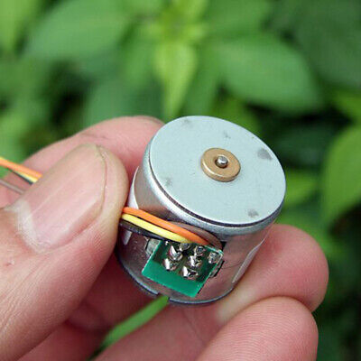 20BY45 Micro 20mm 2-phase 4-wire Precision Stepper Motor 18 Deg 14T Copper Gear 7