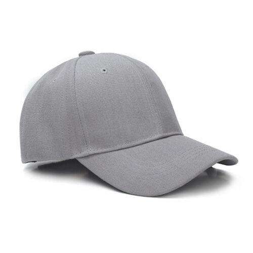 Baseball Cap Women Men Plain Snapback Trucker Sports Caps Sun Hats Summer Unisex 9