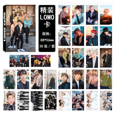 Lot of /set KPOP Bangtan Boys Collective Album Posters Photo Card Lomo card 3
