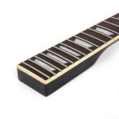 Electric Guitar Neck for Gibson Les Paul LP Maple 22 Fret Black 8