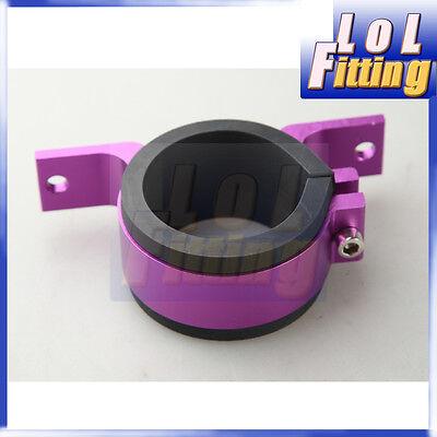 52mm ID Fuel Pump Bracket Anodised Single Billet Aluminum Filter Clamp Cradle