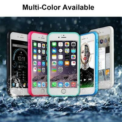 Waterproof Shockproof Hybrid TPU Phone Case Full Cover Fr iPhone X 7 6s 6 8 Plus 2