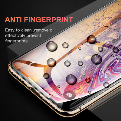 For IPhone X XS MAX XR 8 7 6 10D Full Cover Real Tempered Glass Screen-Protec LJ 7