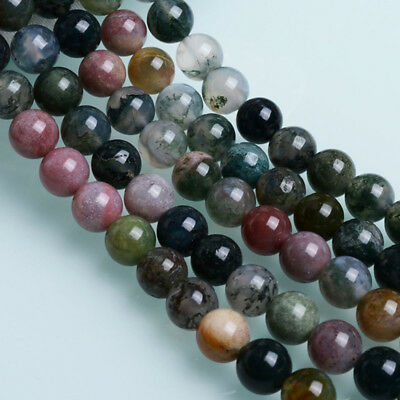 Wholesale Natural Gemstone Round Spacer Loose Beads For Bracelets Jewelry Making 9