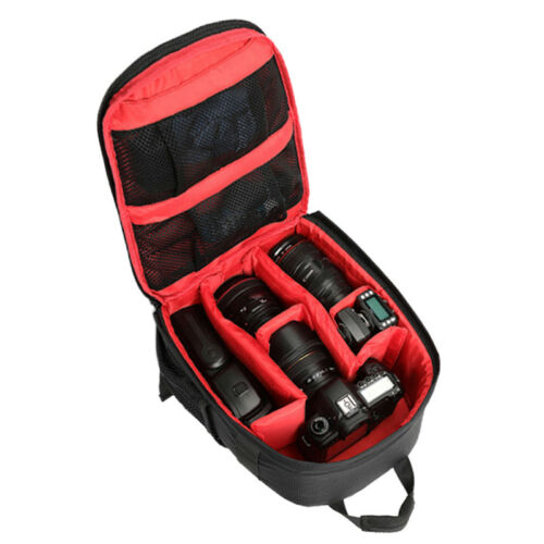 Waterproof DSLR SLR Camera Soft Case Bags Backpack Rucksack For Canon Nikon`Sony 2