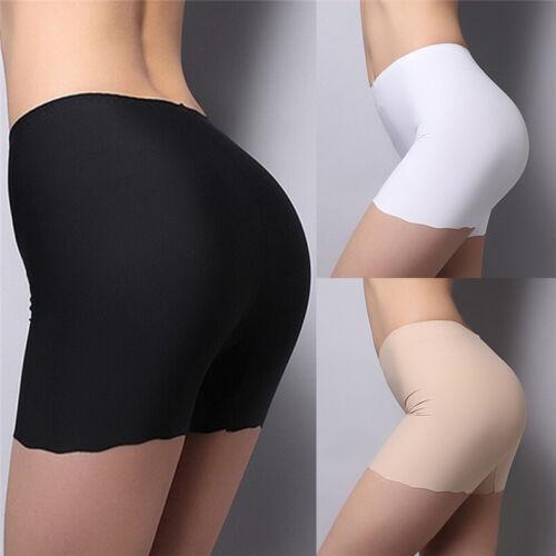 Femmes d'été sans couture shorts de sécurité Hot leggings bouton pantalonsR2H