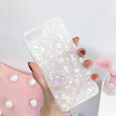 For iPhone 8 7 Plus XS MAX XR Marble Shockproof Silicone Soft Phone Case Cover 9