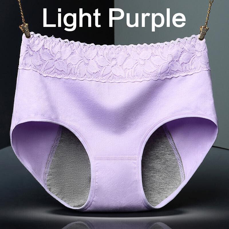 Women Menstrual Pants Leak Proof Briefs Period Seamless Panties M/L/XL 5
