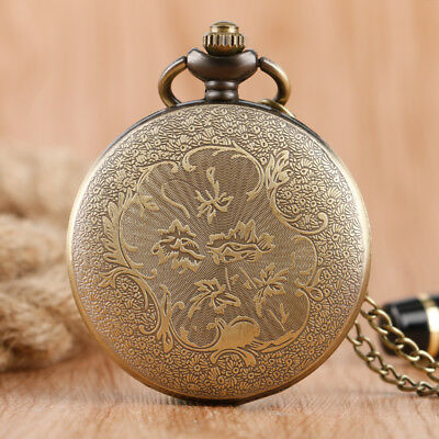 Doctor Who Quartz Pocket Watch Full Hunter Classic Style Necklace with Chain 2