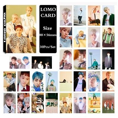 Lot of set cute KPOP EXO Album Personal Collective Photocard Poster Lomo Cards 7