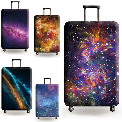 """18"""" - 32"""" Elastic Luggage Cover Suitcase Protector Dustproof Protective Case Bag 2"""