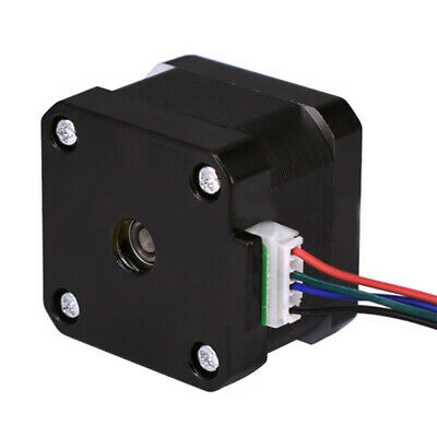 NEMA 17 Stepper Motor 12V 0.4A for CNC Reprap 3D Printer Extruder 36oz-in 26Ncm 3
