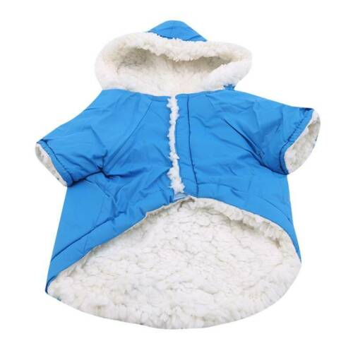 Winter Dog Coats Pet Cat Puppy Chihuahua Clothes Hoodie Warm  Dog Clothing Z 8