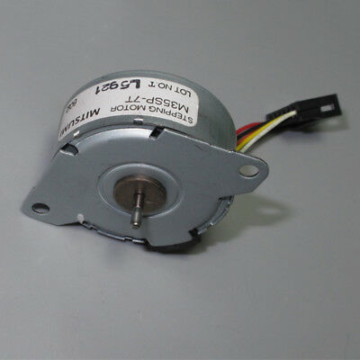 Micro MITSUMI 35mm Round Thin Stepper Stepping Motor 2-phase 6-wire Copper Gear 6