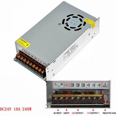 AC 110-240V TO DC 12V/24V 5A/10A/15A/20A/30A Transformer Regulated Power Supply 7