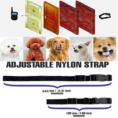 Dog Shock Collar With Remote Waterproof 4 Modes for Large 875 Yard Pet Training 5