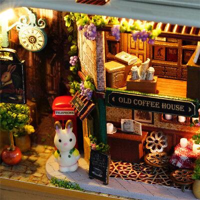 DIY Dollhouse Miniature Furniture 3D Doll House Kit Theater Box New Children Toy 5