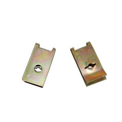 500Pcs Mixed Fastener Fixed Screw U Type Gasket Clip For Car Door//Panel//Fender