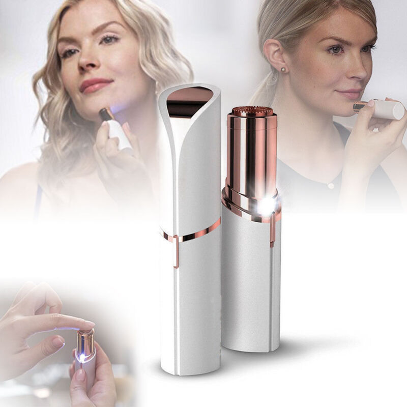 Hot Finishing Touch Flawless Women Painless Lipstick Face Facial Hair Remover