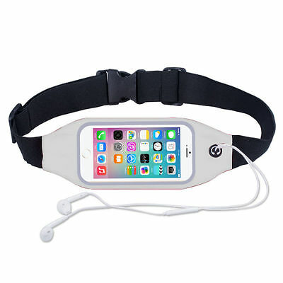 Sports Running Belt Waist Pocket Cycling Jogging Travel Wallet For Smart Phone 5
