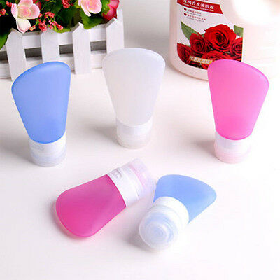 Tube Squeeze Silicone Travel Bottles Shampoo Shower Gel Lotion Sub-bottling Best 7