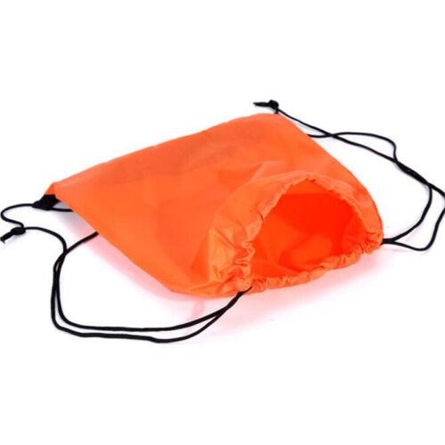 Drawstring Backpack Cinch Sack Large Tote Bag School Sport Lightweight Bags 6