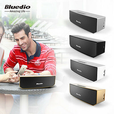 Bluedio BS-3 Bluetooth Wireless Stereo Speakers Portable Outdoor Speakers,PC/IOS 11